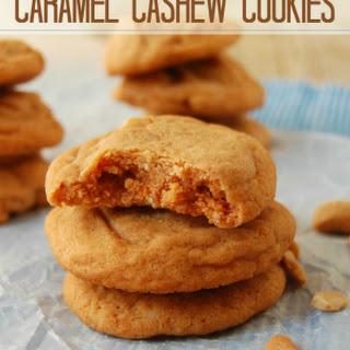 Caramel Cashew Cookies