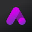 Athena Dark Icon Pack - Dark Squircle Icons icon