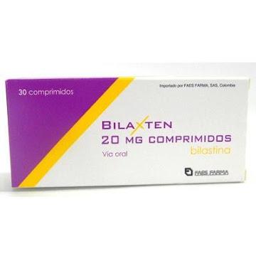 BILAXTEN 20MG   COMPRIMIDOS CAJA X30TAB.  FAES FARMA BILASTINA