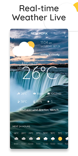 Weather Radar - Weather forecast: Today & Tomorrow 2.7 screenshots 1