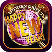 Hidden Object - Happy New Year Celebration Puzzle