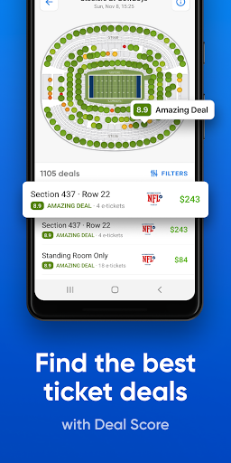 SeatGeek u2013 Tickets to Sports, Concerts, Broadway 2020.08.20313 screenshots 4
