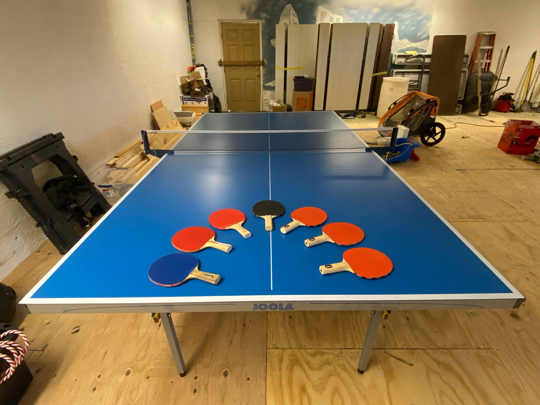 Can you use an outdoor table tennis table indoors? - YES!