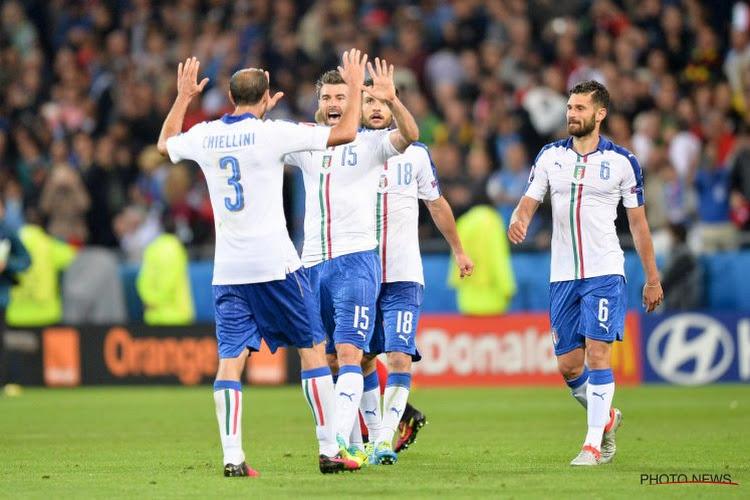 Deux grands absents à l'entraînement chez les Italiens