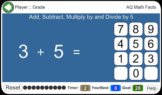 AQ Math Facts - náhled