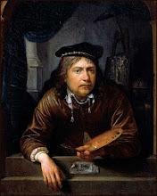 Foto: Gerrit Dou, ook Gerard Dou genoemd (Leiden, 7 april 1613 - aldaar begr., 9 februari 1675), was een Nederlandse kunstschilder.