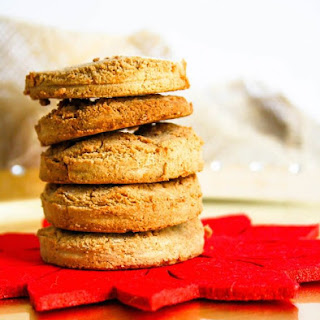 Grain Free Orange Maple Holiday Cookies