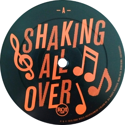 lp-etiketti: Shaking All Over