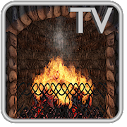 Realistic Fireplace TV - 3D Live App