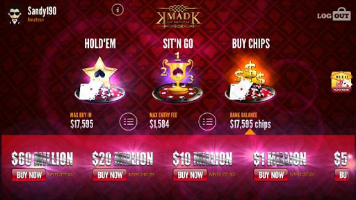 MAD Texas HoldEm Poker