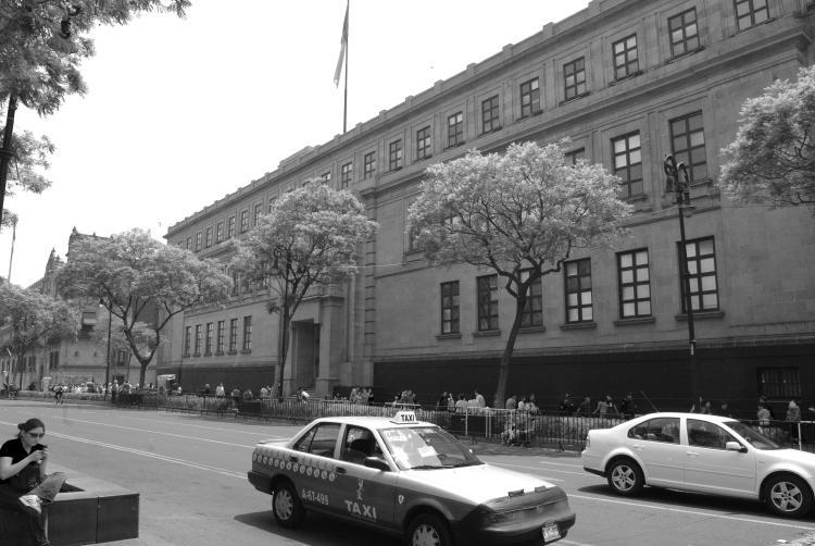 Mexico's Supreme Court of Justice, where the decision was made that shocked the world.