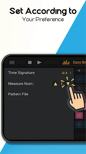 Easy Drum Machine - Beat Machine & Drum Maker - screenshot