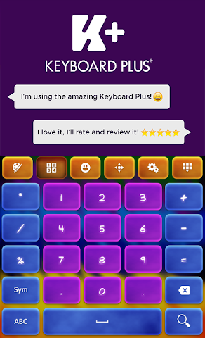 android Crazy Colors Keyboard Screenshot 5