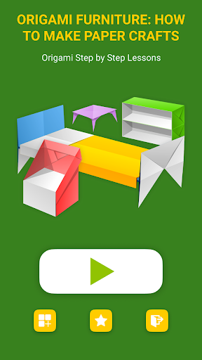 Contemporary Origami Furniture   3D Warehouse   512x288