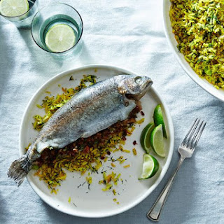 Parvin's Tamarind-Stuffed Fish