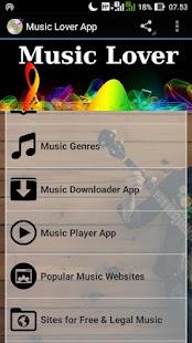 Music Lover - náhled