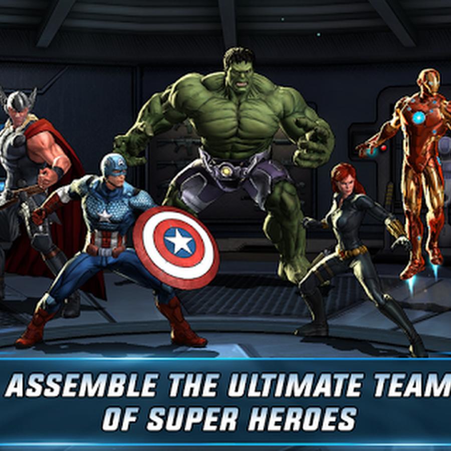 Avengers Alliance 1.3.0 MEGA MOD APK
