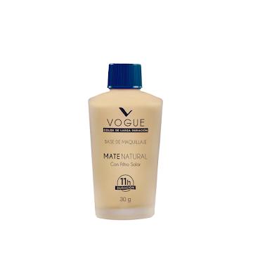 Base Vogue Mate Natural Formato Rosca Gitano 30G