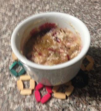 Berry Or Cherry Mug Cake Recipe