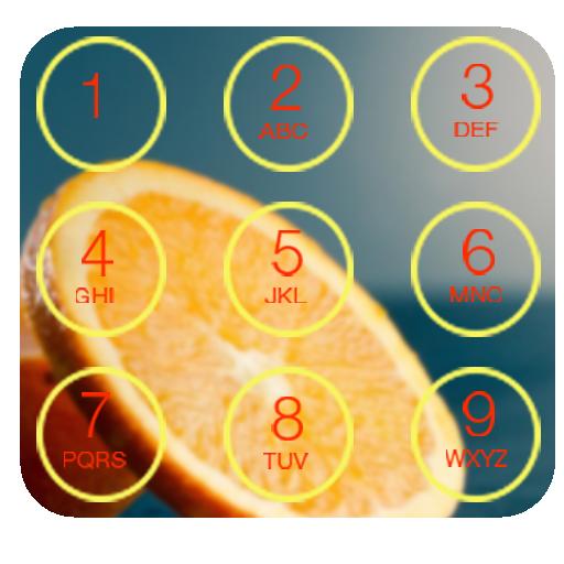 AppLock - Orange Theme