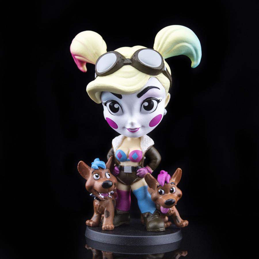 Blue & Pink Harley Quinn (DC Lil Bombshells: Series 3)