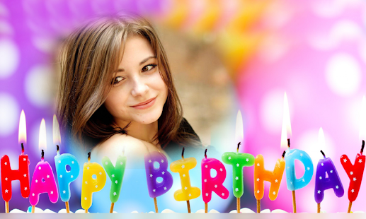 Birthday photo frames HD Photo Editor - náhled