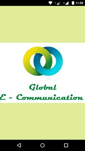 Global E-Communication App