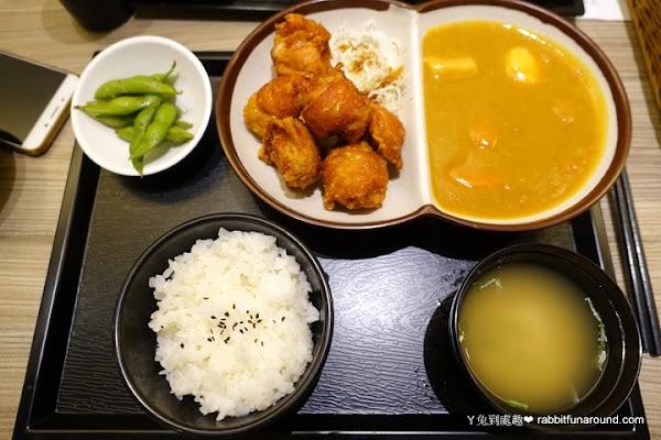 橋北屋日本家庭料理。又酥又香的唐揚雞、炸豬排定食
