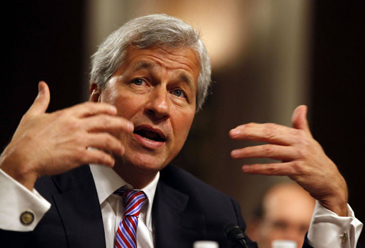 Jamie Dimon, chairman and CEO of JPMorgan Chase & Co. Picture: REUTERS