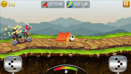 Angry Granny: Racing Car APK screenshot thumbnail 3