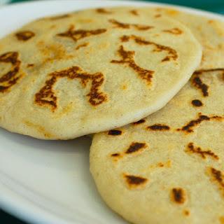 Pupusas De Frijoles (Refried Bean-Stuffed Corn Tortillas) Recipe