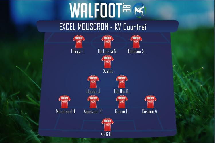 Excel Mouscron (Excel Mouscron - KV Courtrai)