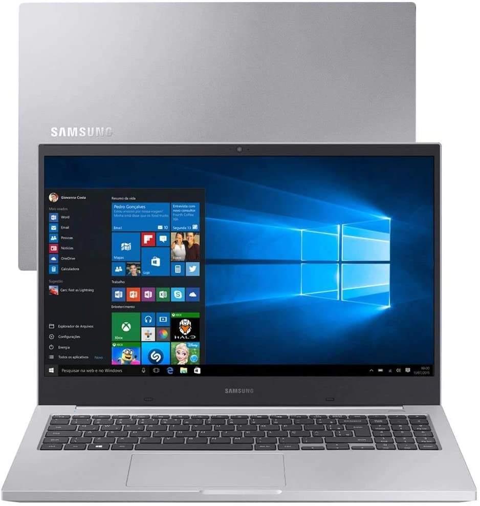 Imagem de notebook da marca Samsung e modelo Book X40