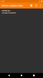 Buftaku Subtitle Utility 3.1.0-revision-4 (AdFree)