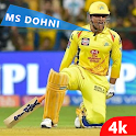MS Dhoni Wallpaper HD - Indian Cricketer Wallpaper icon