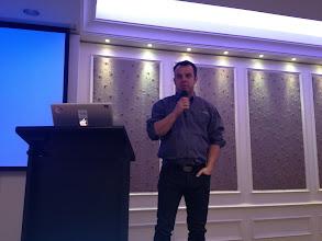 Photo: Oleg doing Keynote in Kiev