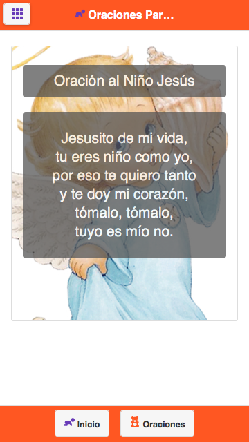 Oraciones Para Niños- screenshot