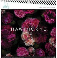 Heidi Swapp Single-Sided Paper Pad 12X12 36/Pkg - Hawthorne UTGÅENDE