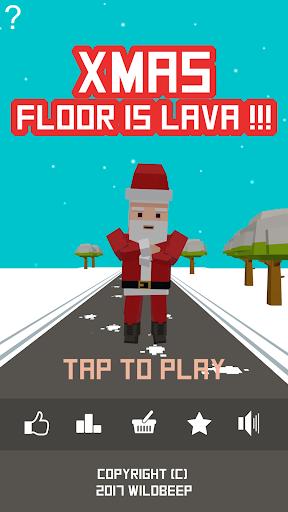 Xmas Floor is Lava !!! Christmas holiday fun ! 2.1 screenshots hack proof 1