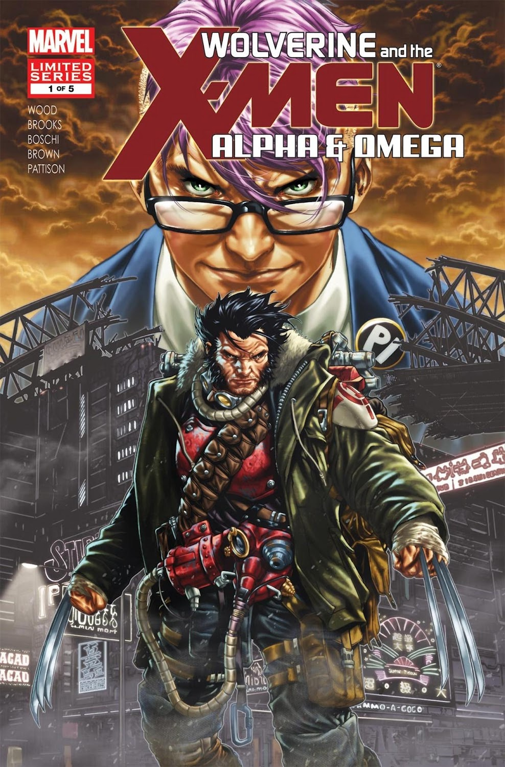 Wolverine and The X-Men - Alpha and Omega (2012) - complete