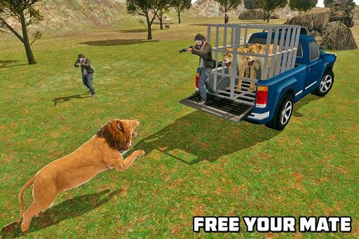Angry Lion Sim City Attack screenshot 4