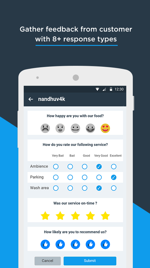 myPulse-Get Customer Feedback- screenshot