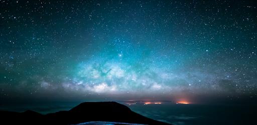 Sky Wallpapers Hd Night Blue Starry Cloudy App Su Google Play