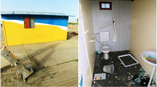 Denuncian varios actos vandálicos en Vera Playa