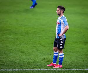 Dries Mertens encore sur le banc face à Cagliari