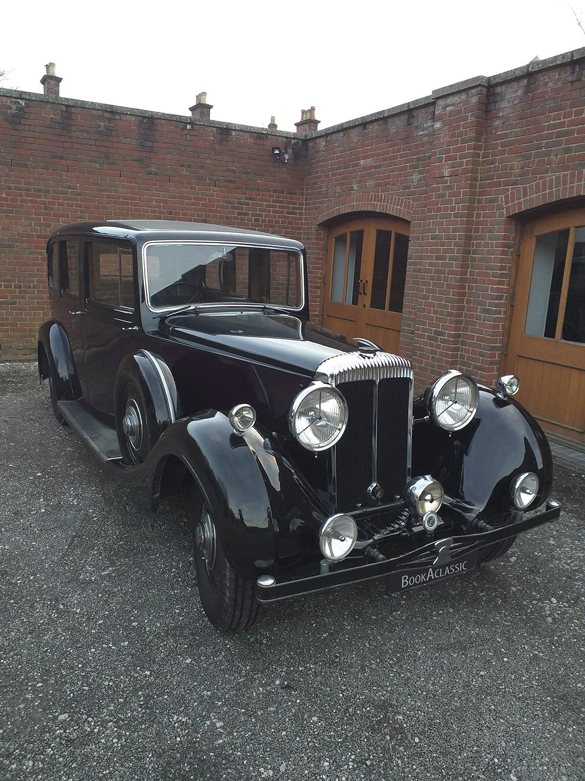 Daimler Straight 8 Limousine Hire Altrincham