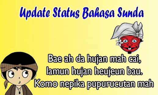 Update Status Bahasa Sunda - náhled