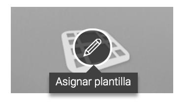 Asignar plantilla - Admira