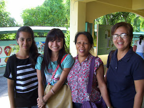 Photo: From R - Belinda Garrido and her team in Roxas City, Philippines