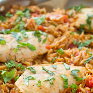 One-Pot Italian Chicken and Orzo Pasta